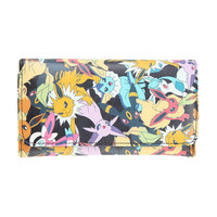 Pokemon Eevee Evolution Characters Flap Wallet
