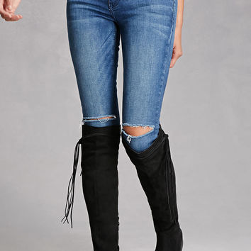 Lust For Life Faux Suede Boots