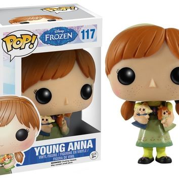 Young Anna Disney Frozen Funko Pop! Vinyl Figure #117