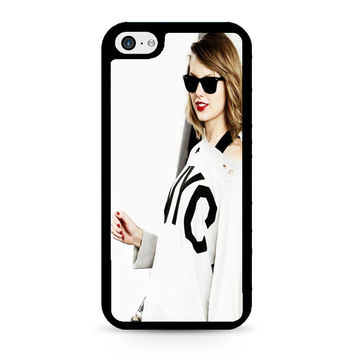 taylor swift cover white iPhone 5C Case