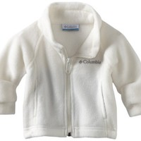 Columbia Baby Girls' Benton Springs Fleece Jacket, Sea Salt, 24 Months