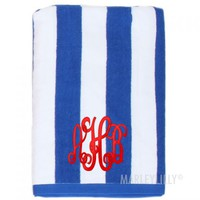 Monogrammed Beach Towels | Marleylilly