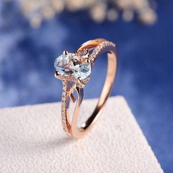 Exquisite Women Oval Rings Jewelry Bride Engagement Wedding Ring Anillos Fancinating Ornaments Stylish Ring Pendientes Aneis