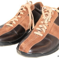 COLE HAAN Nike Air Oxford Brown Mens Casual Shoes Size 9 M