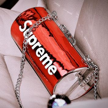 Supreme Fashion Casual Shoulder Bag Crossbody Wallet Purse For Women Men