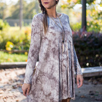 Plan With Ease Dress, Taupe
