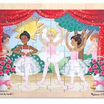 Ballet Performance Wooden Jigsaw Puzzle - 48pc