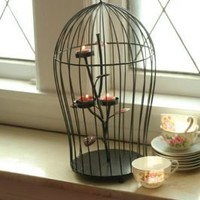 Victorian trading Co. - www.victoriantradingco.com - Captive Light Candle Cage
