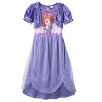Disney Sofia the First Dress-Up Nightgown - Girl, Size: