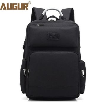 University College Backpack AUGUR 2018 Fashion Men Women  Oxford 15.6 inch Laptop Notebook Busines s to School Bag  Students Back bagAT_63_4