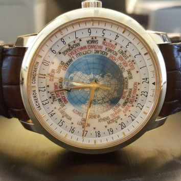 ONETOW Vacheron Constantin World Time box and papers