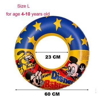 Swimming Pool beach Inflatable Swimming Ring Laps Child Swim Trainer Baby Pool Toys Inflatable Flamingo Donut Swan Kid Cartoon Swimming AccessoriesSwimming Pool beach KO_14_1