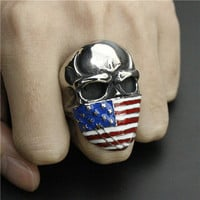 American Flag Outlaw Ring
