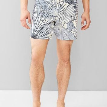Gap Men Tropical Pool Shorts 7""