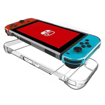 Bevigac Portable Back Protection Case PC Anti-scratch Dustproof Hard Shell Cover for Nintend Switch NS NX Joy-Con Controller