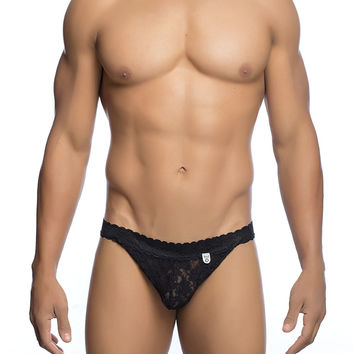 MaleBasics Men's Lace Jockstrap