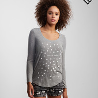 LLD Long Sleeve Snow Dots Tee