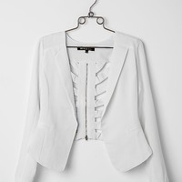 Hot & Delicious Cut-Out Blazer