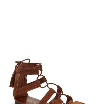 Topshop 'Hipster' Lace-Up Sandal (Women) | Nordstrom