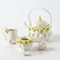 Crown Rose Tea Set
