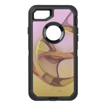 Abstract Motions Modern Fractal Art OtterBox Defender iPhone 7 Case