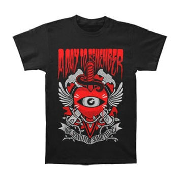 A Day To Remember Men's  Stand For Something T-shirt Black Rockabilia