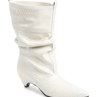 Stella McCartney Python Embossed Slouch Boot (Women) | Nordstrom