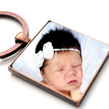new dad gift, first fathers day gift, custom photo keychain,personalized picture keychain,new grandpa gift,1st fathers day,new father gift