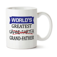 World's Greatest GrandFarter, GrandFather, Funny mug, Gift For Grandpa, Joke mug, Best GrandFather, Birthday gift for Grandad, 15oz,