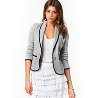 2017 New Summer Blazer Women Casual Office Blazers Outwear Female Feminino Blazer Femme Plus Size Jacket Femme Short Coat BN962-