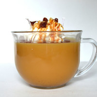 Snickers Coffee Scented Gourmet Jar Candle