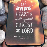 Quote, God, Jesus, Bible, Love, Faith, Hope, Christian for iPhone 4/4s, iPhone 5/5S/5C/6, Samsung S3/S4/S5 Unique Case *76*