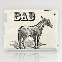 Bad Ass iPad Case by Jacqueline Maldonado
