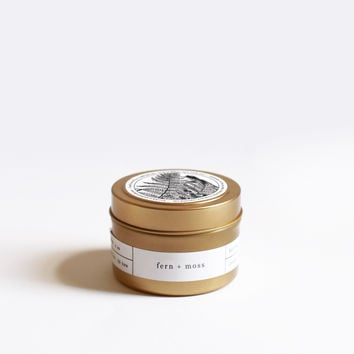 Fern + Moss Travel Candle