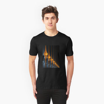 'Watchers Modern and Abstract Fractal Art' T-Shirt by gabiwArt
