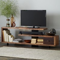 Staggered Wood Console