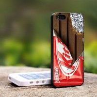 KitKat Chocolate - For iPhone 4,4S Black Case Cover