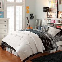 Zebra Dottie Stuff-Your-Stuff Bedroom