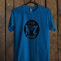 Jack Daniels Old Blue For Mens T Shirt and Womens T Shirt *76*