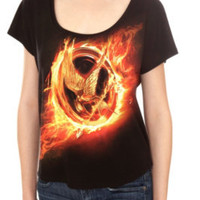 The Hunger Games Scoop Neck Tee