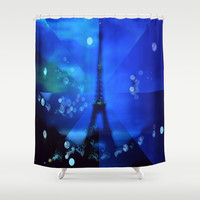 Paris Dreams Shower Curtain by  #RokinRonda