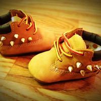 Baby Studded Timberland Boots