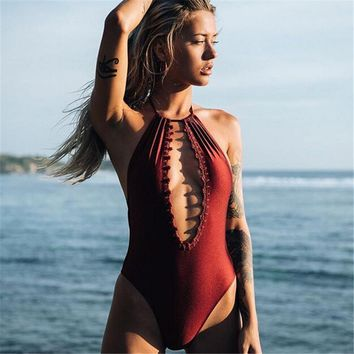 Monokini One-piece swimwear