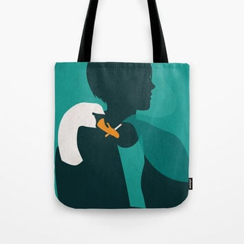 Smokers hand Tote Bag by trash-id
