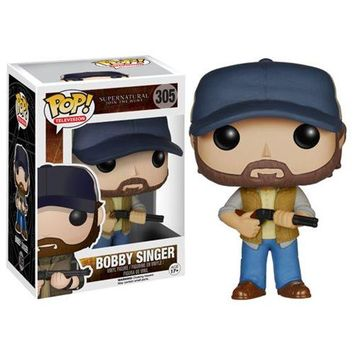 Supernatural Bobby Singer Pop! Vinyl Figure