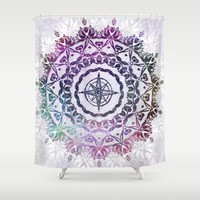 Destination Shower Curtain by Inspired Images