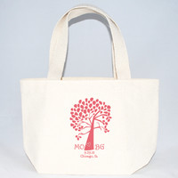 Tree Tote Bags with Customization - X-Small