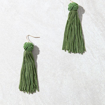 LA Hearts Tassel Earrings at PacSun.com