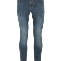 Mid Wash Spray On Jeans - New Arrivals - New In