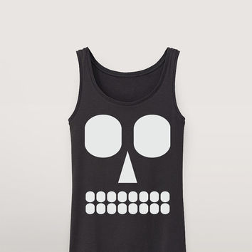 Graphic Skull Tank Top ( a00160 )
